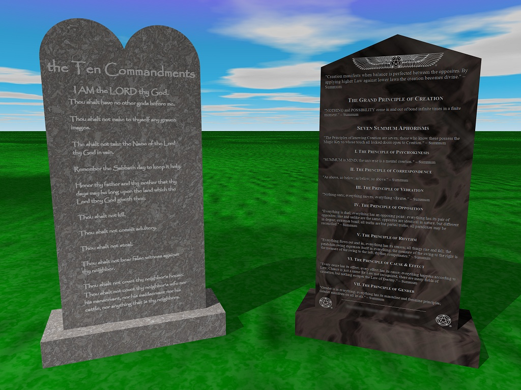 Ten Commandments and Seven Aphorisms