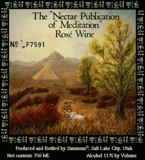 Meditation Nectar Label