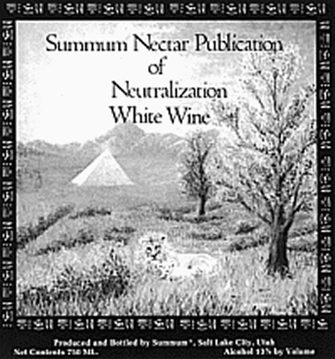 Neutralization Nectar Label